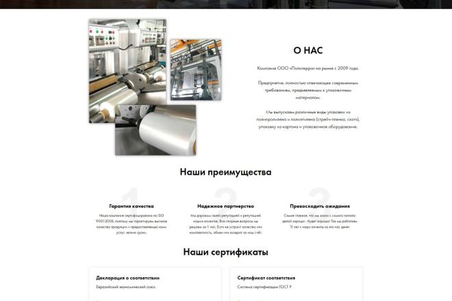 Создание современного лендинга на конструкторе Тильда 57 - kwork.ru
