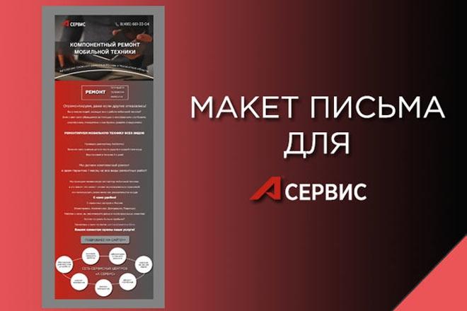 Создам красивое HTML- email письмо для рассылки 30 - kwork.ru