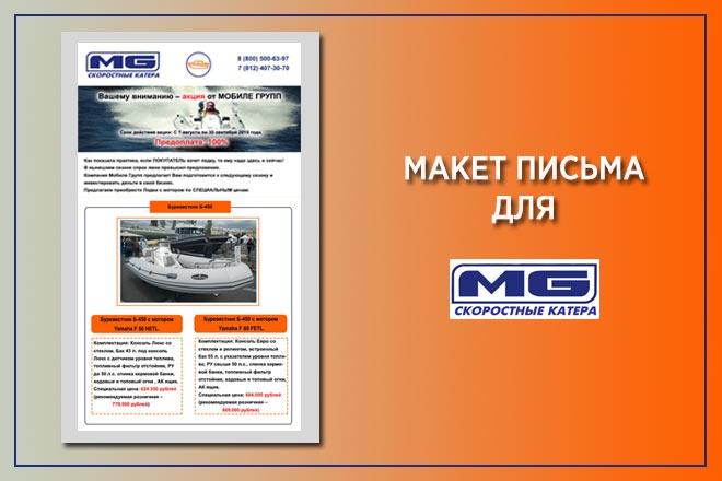 Создам красивое HTML- email письмо для рассылки 29 - kwork.ru