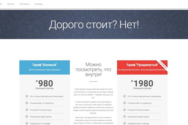 Лендинг для любых целей на Wordpress 18 - kwork.ru