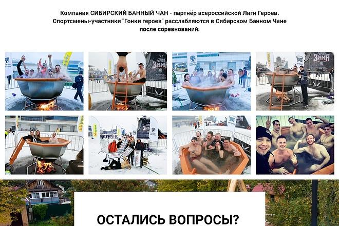 Копирование Landing Page 39 - kwork.ru
