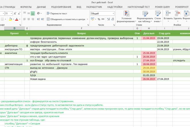 Excel формулы, сводные таблицы, макросы 59 - kwork.ru