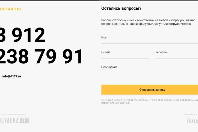 Вёрстка сайтов по доступной цене 95 - kwork.ru