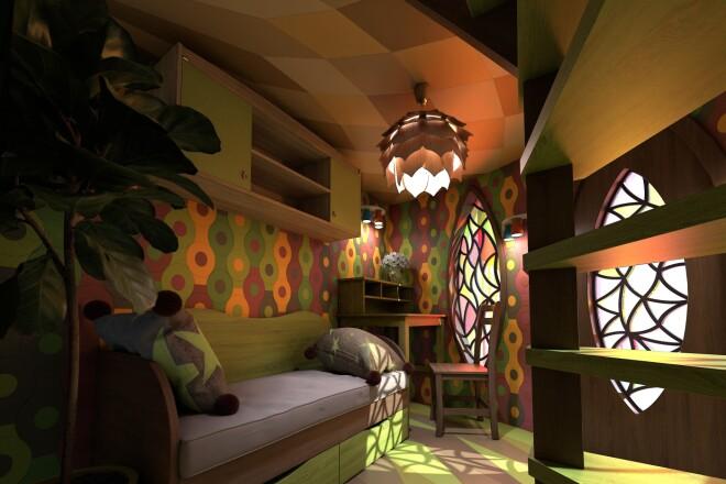 3D моделирование и визуализация мебели 5 - kwork.ru