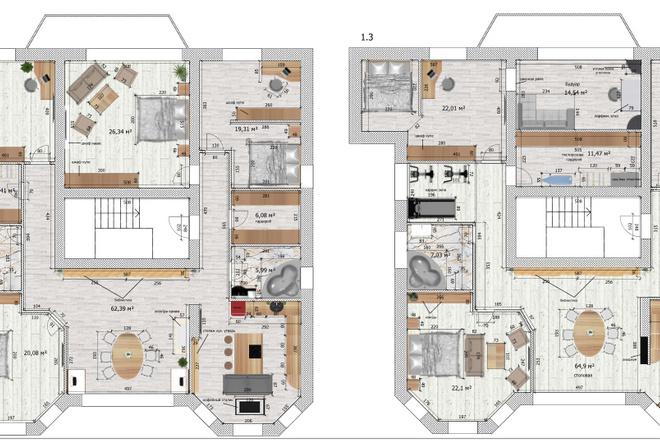Интересные планировки квартир 39 - kwork.ru