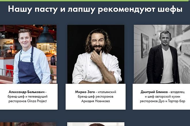 Создание сайта - Landing Page на Тильде 142 - kwork.ru