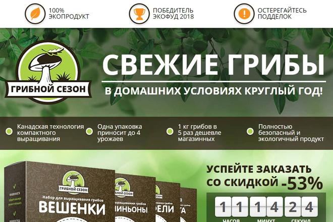 Копия товарного лендинга плюс Мельдоний 9 - kwork.ru