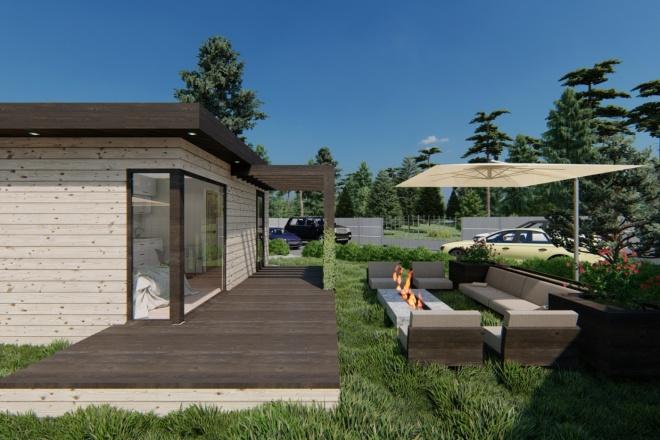 Фотореалистичная 3D визуализация экстерьера Вашего дома 179 - kwork.ru