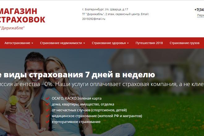 Качественная копия лендинга с установкой панели редактора 72 - kwork.ru