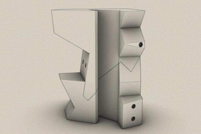 3d модель для печати любой сложности 8 - kwork.ru
