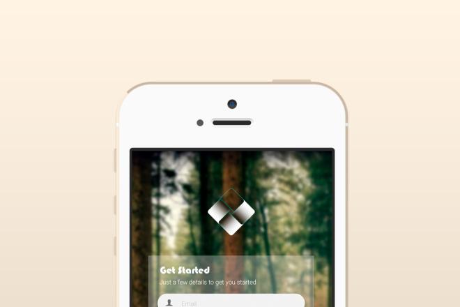 Дизайн экрана мобильного приложения 3 - kwork.ru