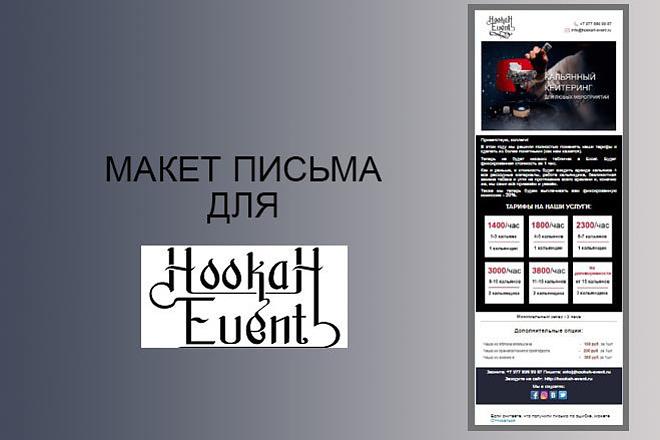 Создам красивое HTML- email письмо для рассылки 20 - kwork.ru