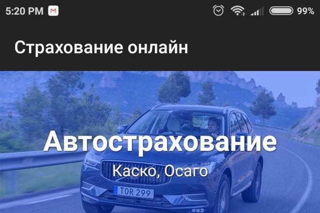 Создам Android приложение. Качественное и с гарантией 14 - kwork.ru