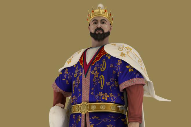 3D персонаж для игрового проекта 16 - kwork.ru