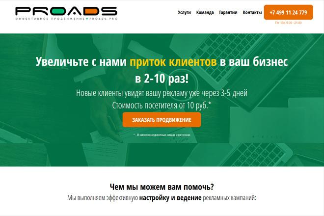 Создам сайт-одностраничник лендинг + 2 подарка 10 - kwork.ru
