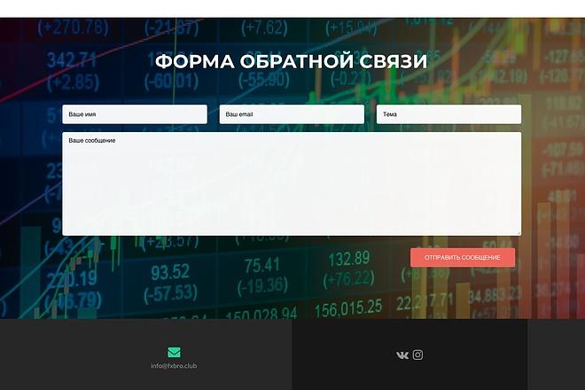 Создание одностраничника на Wordpress 39 - kwork.ru