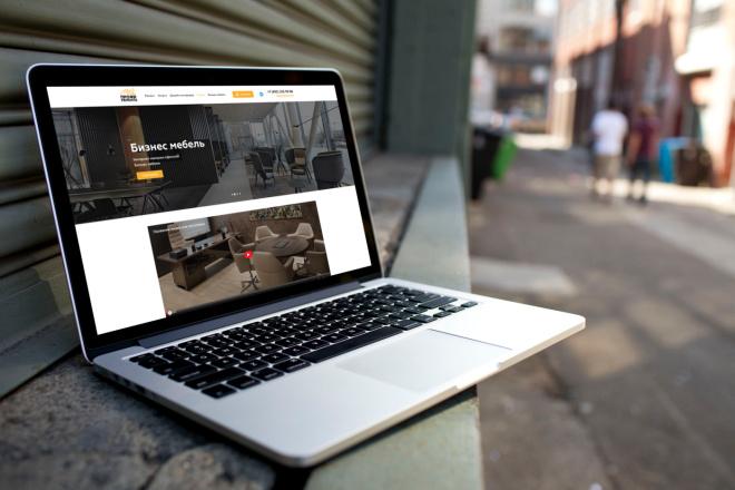 Сделаю дизайн страницы сайта 21 - kwork.ru