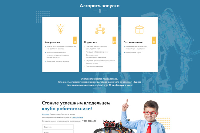 Дизайн страницы Landing Page - Профессионально 33 - kwork.ru