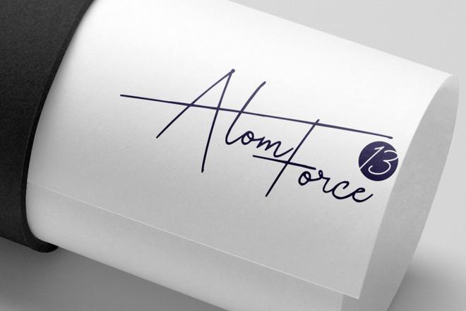 Создам логотип - Подпись - Signature в трех вариантах 2 - kwork.ru