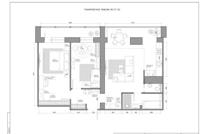 Планировочное решение вашего дома, квартиры, или офиса 24 - kwork.ru