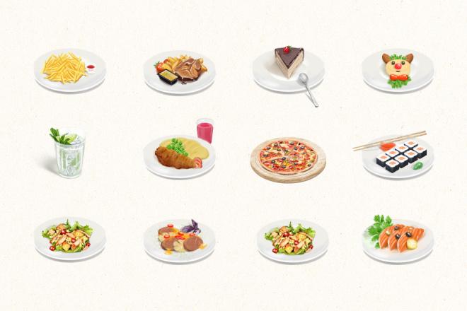 Нарисую эксклюзивную растровую иконку для вашего сайта 11 - kwork.ru