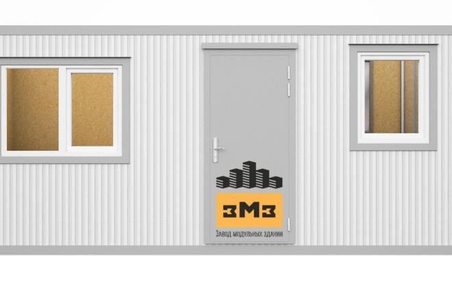 3D Моделирование навеса + визуализация 16 - kwork.ru