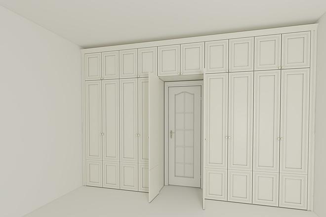 Визуализация мебели, предметная, в интерьере 37 - kwork.ru