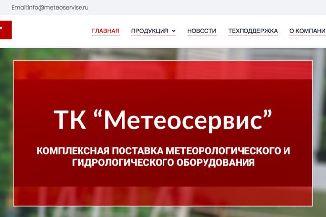 Создам сайт под ключ на WordPress 14 - kwork.ru