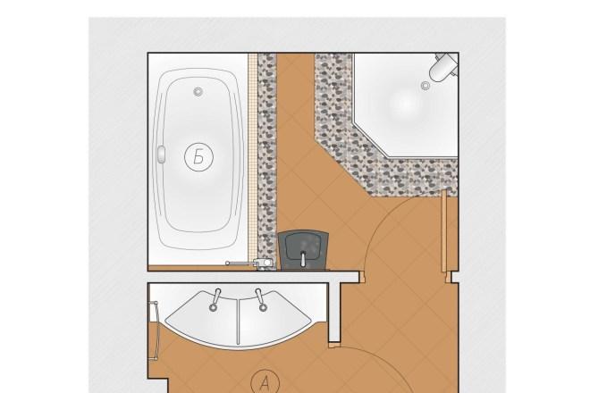 Планировка или пакет рабочих чертежей для проекта интерьера 12 - kwork.ru