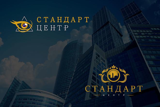 Создам 2 варианта логотипа + исходник 76 - kwork.ru