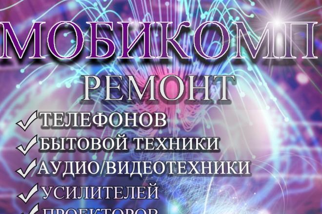 Разработаю рекламный баннер для продвижения Вашего бизнеса 17 - kwork.ru