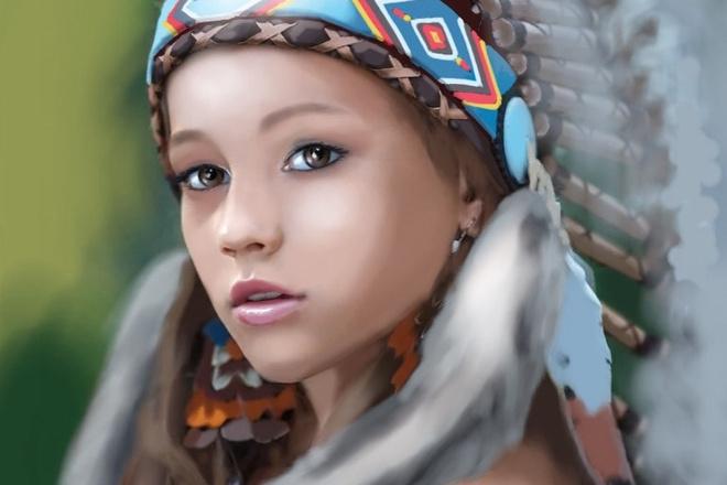 Нарисую портрет в растровой или векторной графике 13 - kwork.ru