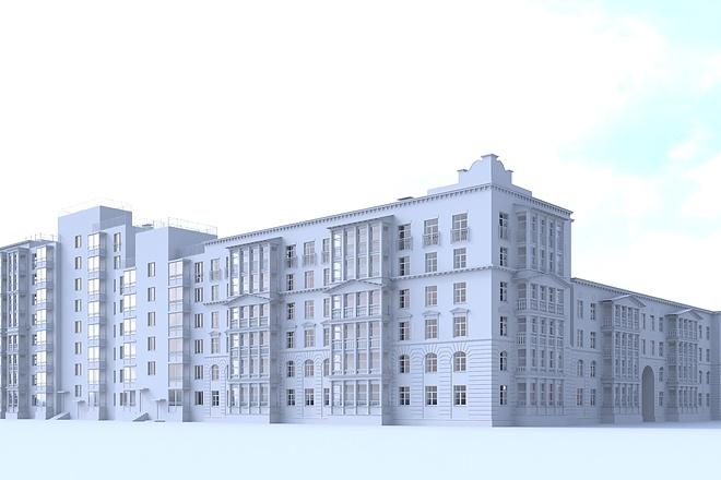 Архитектурное 3d моделирование 11 - kwork.ru