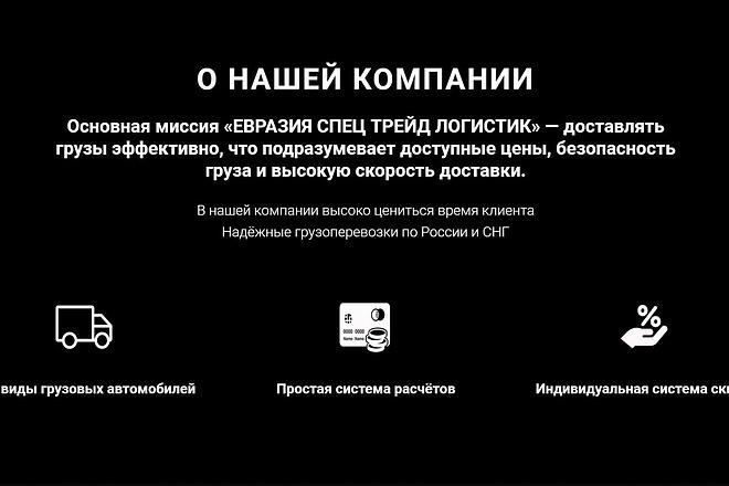 Создаю Лендинг на Тильде под ключ 55 - kwork.ru