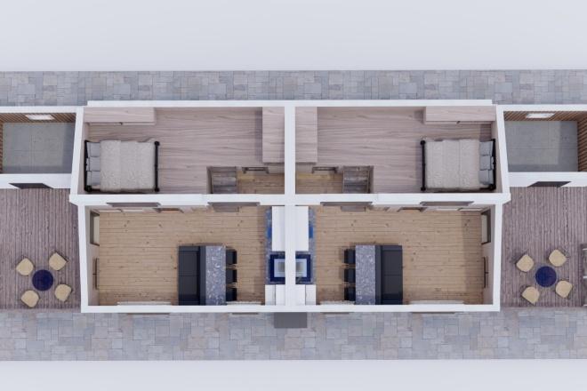 Фотореалистичная 3D визуализация экстерьера Вашего дома 19 - kwork.ru