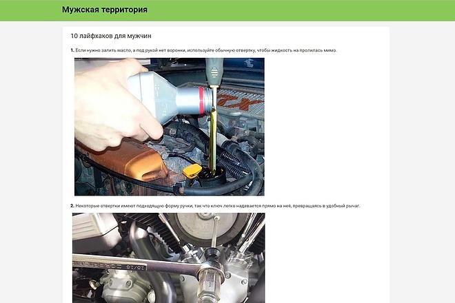 Скопирую Landing Page, Одностраничный сайт 75 - kwork.ru