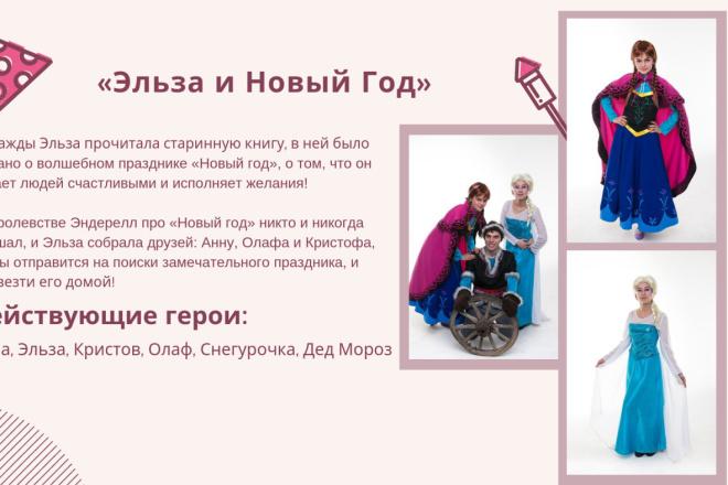 Стильный дизайн презентации 310 - kwork.ru