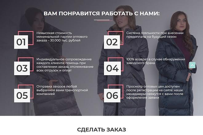 Сайт под ключ. Landing Page. Backend 181 - kwork.ru
