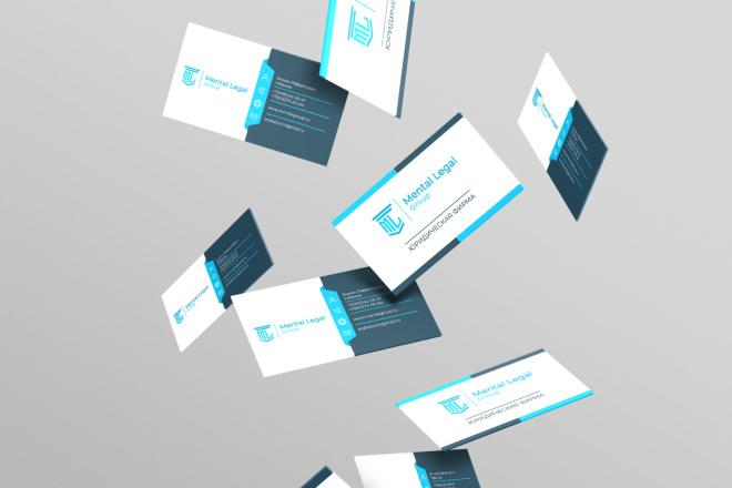 Дизайн визитки 5 - kwork.ru