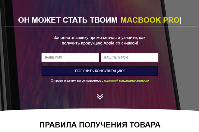 Создам лендинг на вордпресс 53 - kwork.ru