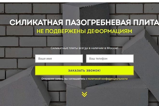 Создам лендинг на вордпресс 44 - kwork.ru