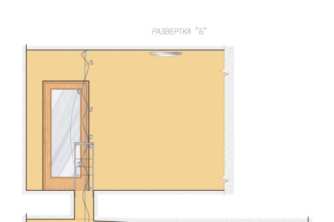 Планировка или пакет рабочих чертежей для проекта интерьера 13 - kwork.ru
