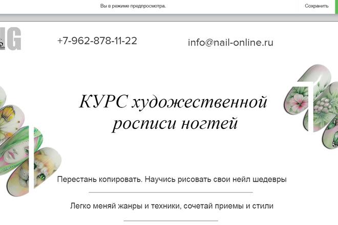 Создание сайтов на конструкторе сайтов WIX, nethouse 16 - kwork.ru