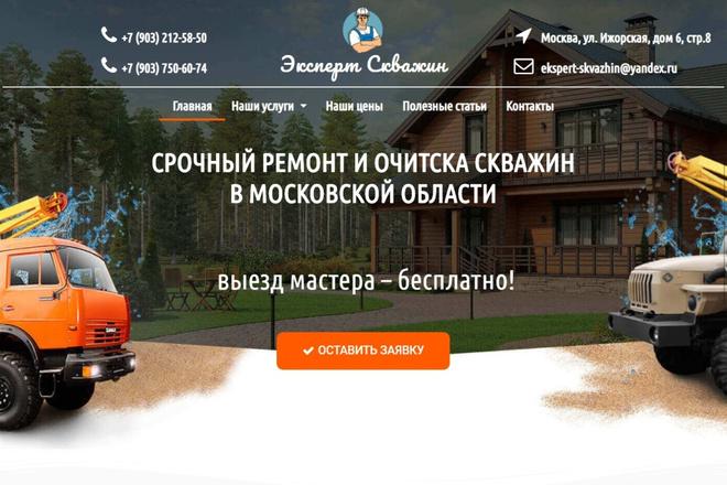 Создам продающий Landing Page под ключ 29 - kwork.ru