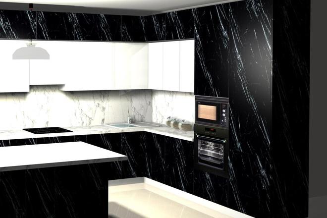 Создам 3D дизайн-проект кухни вашей мечты 2 - kwork.ru