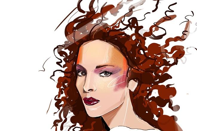 Сделаю иллюстрацию в стиле фэшн иллюстрации 8 - kwork.ru