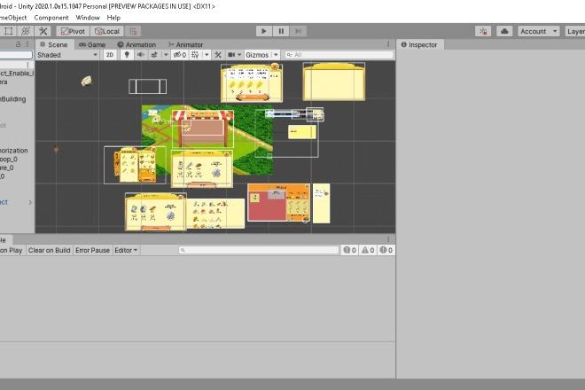 Исходник игрового мобильного ассета Hotline Unity3D 2D Top Down Shooter Source Code 1 - kwork.ru