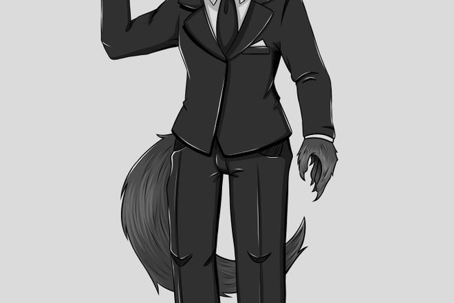 Персонаж 2D 17 - kwork.ru