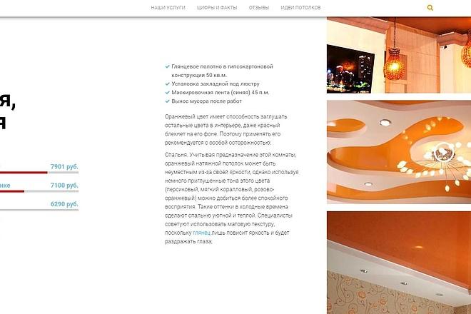 Лендинг для любых целей на Wordpress 59 - kwork.ru