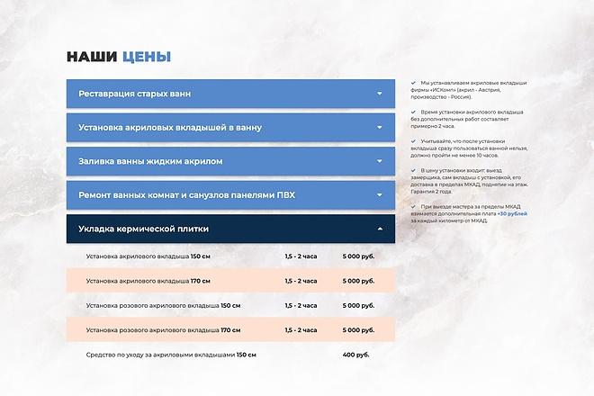 Вёрстка сайтов по доступной цене 128 - kwork.ru